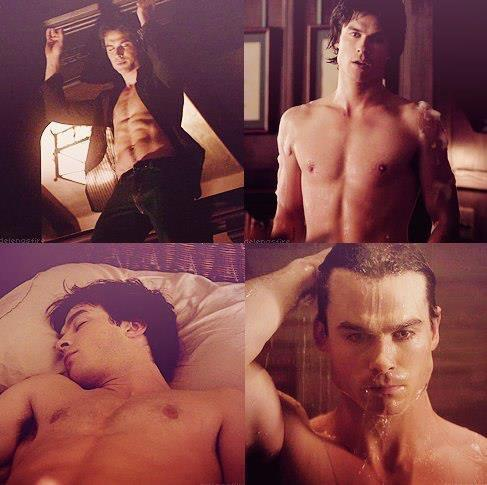 Damon Salvatore wallpaper containing skin titled Mr. Salvatore