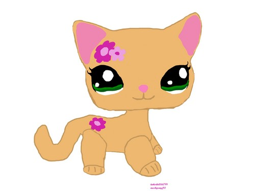 My LPS Kitty Фан Art