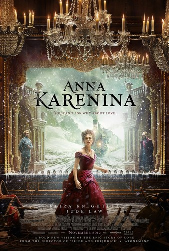 Anna Karenina (by Joe Wright) wallpaper probably with a sign called NEW poster HQ