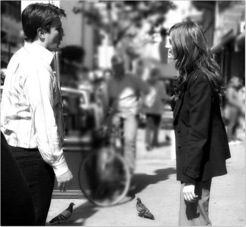 Nathan Fillion & Stana Katic fond d'écran containing a business suit titled Nathan Fillion & Stana Katic