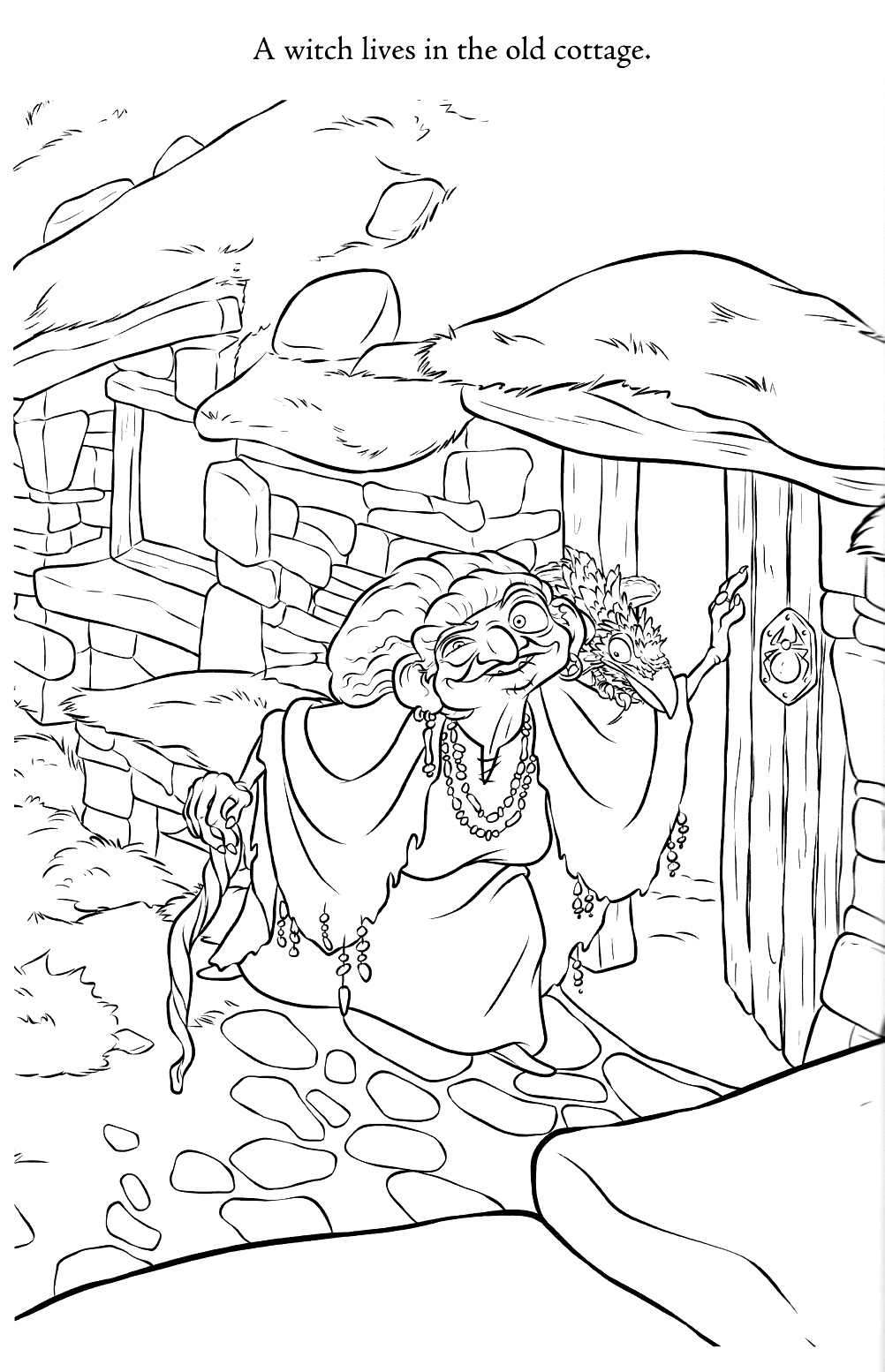 Disney Brave Coloring Pages - Coloring Home | 1554x1002