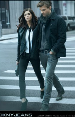 New DKNY Jeans ad Featuring Ashley Greene