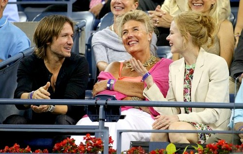 Nicole and Keith at the U.S. Open 2012