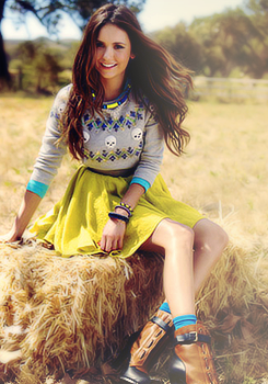 Nina Dobrev for Seventeen Magazine