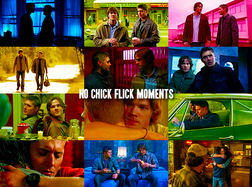 No chick Flick Moments.