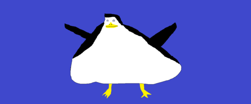 Oh crud! It's penguin, auk Creasote!