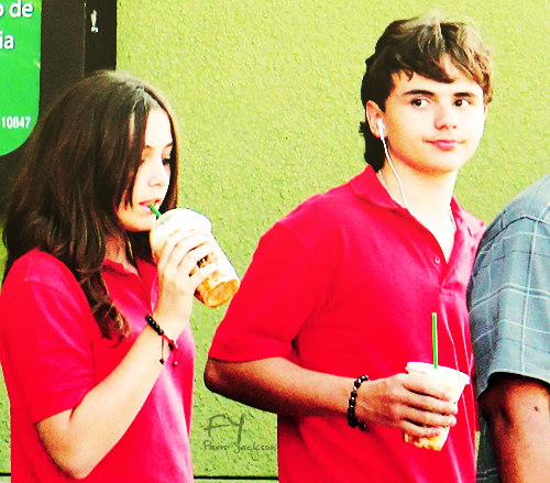 Paris Jackson and her brother Prince Jackson ♥♥