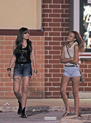 Blanket Jackson wolpeyper with a hip boot titled Paris Jackson and her cousin Jahmia Sutherland in Gary, Indiana ♥♥