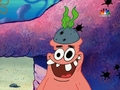 Patrick star, sterne (with hat)