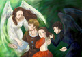 Peter, Susan, Edmund and Lucy