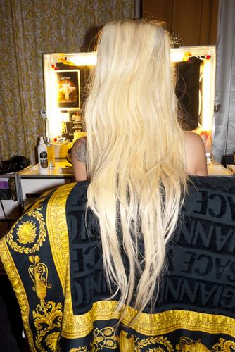 fotos of Gaga por Terry Richardson