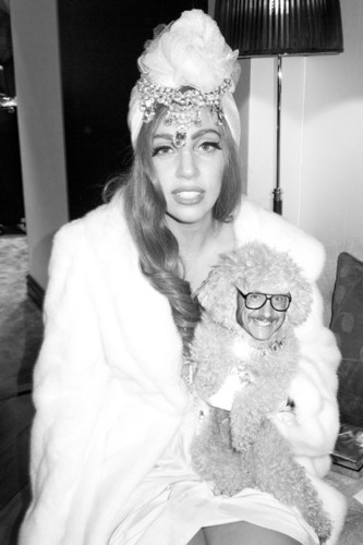 foto of Gaga da Terry Richardson