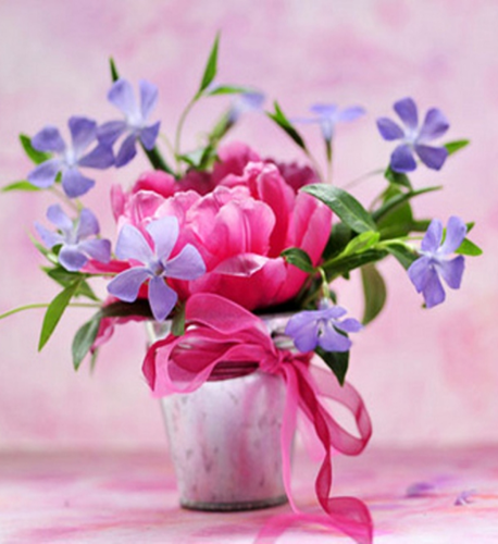 گلابی Flowers Vase For Berni
