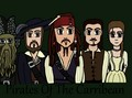 Pirates Of The Carribean 아니메