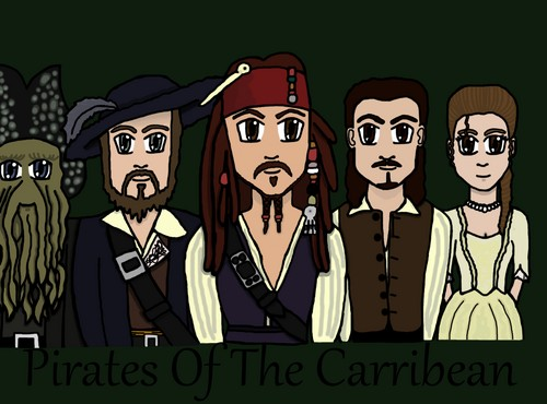 Pirates Of The Carribean anime
