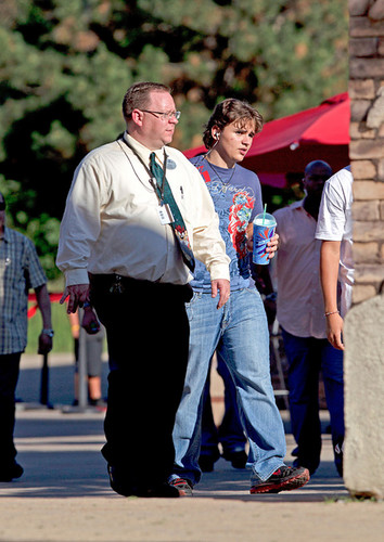 Prince Jackson at Six Flags in illinois ♥♥