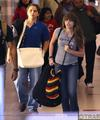 Prince Jackson with his sister Paris Jackson at the airport 