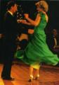 Princess Diana dancing with Prince Charles