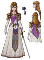 Princess Zelda(Twilight Princess) Concept Art