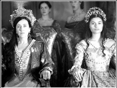 Queen Katherine of Aragon & Queen Claude of France