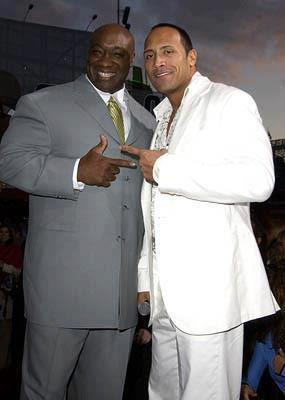 R.I.P Michael Clarke Duncan - dwayne-the-rock-johnson Photo
