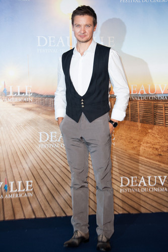 Rachel Weisz and Jeremy Renner at Deauville, France