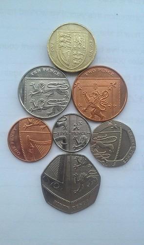 随意 Coolness of Coins/Currency(UK)
