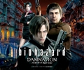 Resident Evil Damnation Movie Wall - leon-kennedy photo