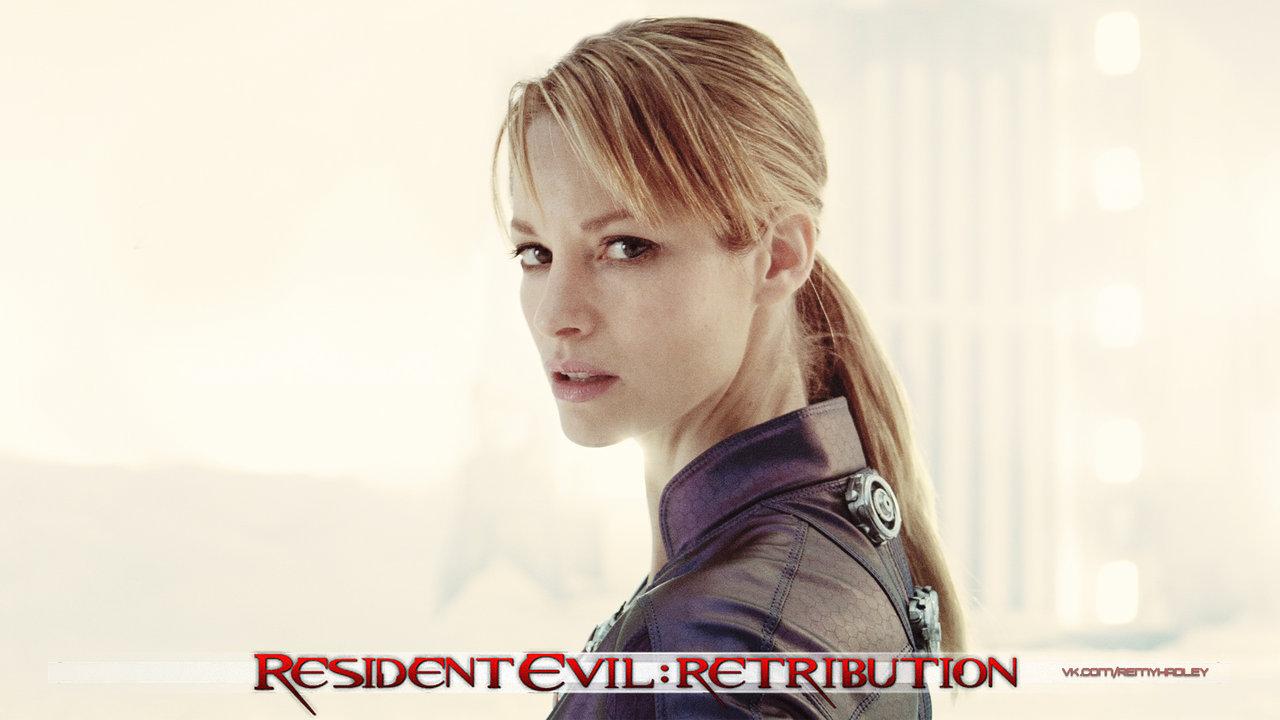 Resident Evil Retribution Jill Valentine
