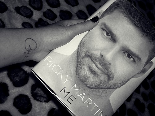 Ricky's book and autograph. <3