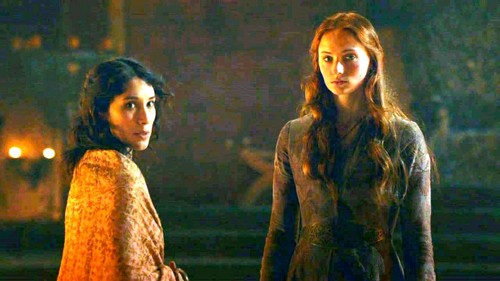 Sansa and Shae