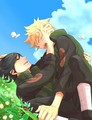Sasuke and Naruto - sasunaru photo