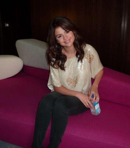 Selena Gomez today at Paris. 3rd September 2012
