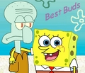 SpongeBob and Squidward - spongebob-squarepants fan art
