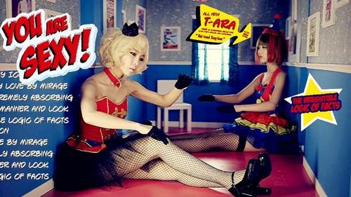 T ara sexy love album