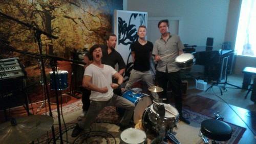 TR @ the studio :)