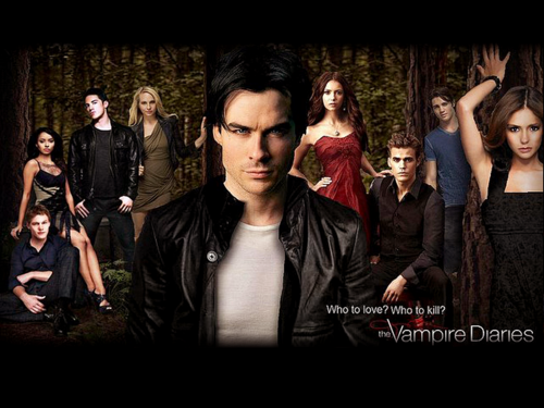 The Vampire Diaries wallpaper probably containing a portrait called TVD