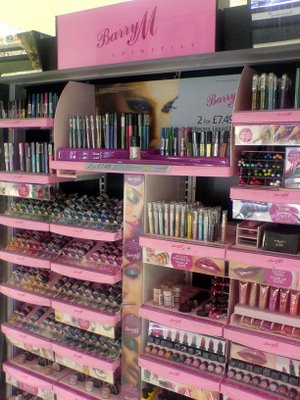 The Barry M section <3
