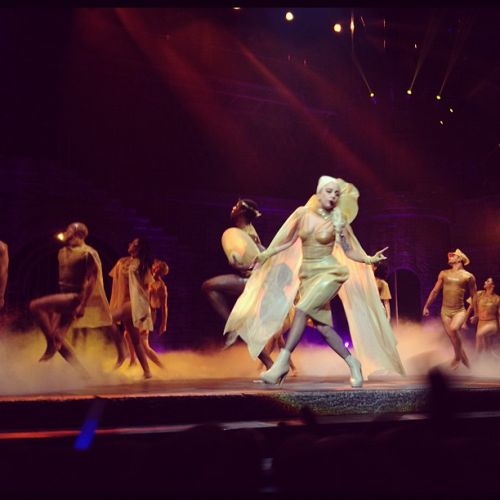 The Born This Way Ball in Stockholm, Sweden