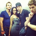 The Originals & Kat Graham #DragonCon2012 - klaus-and-bonnie photo