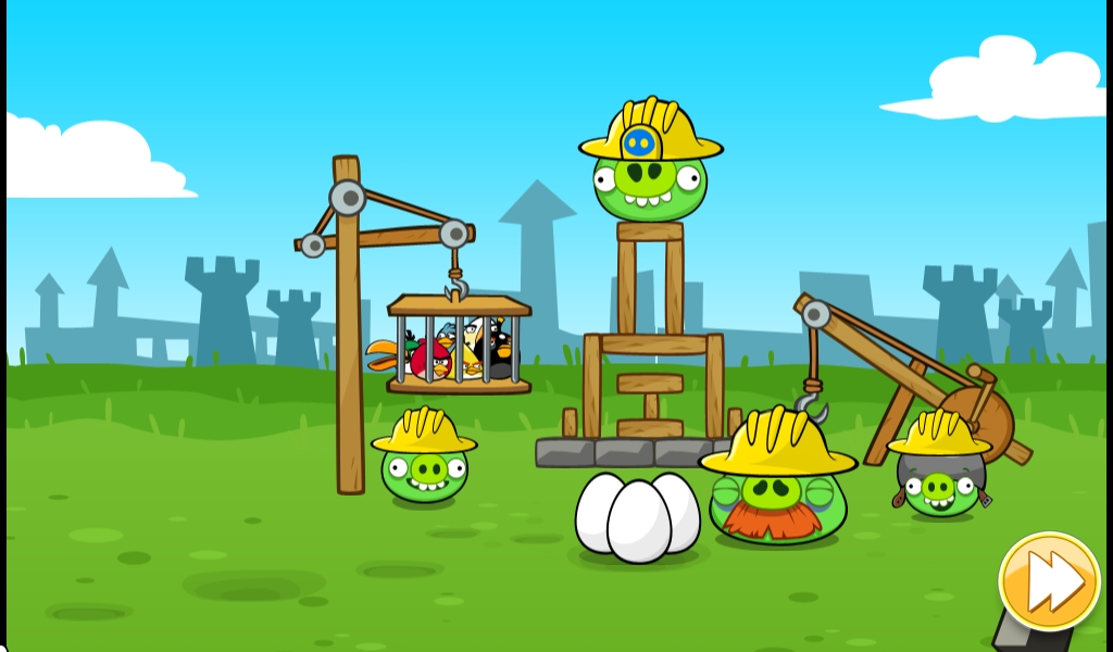 The Pigs Capture The Eggs