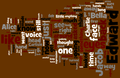 The Twilight Saga word cloud - critical-analysis-of-twilight photo