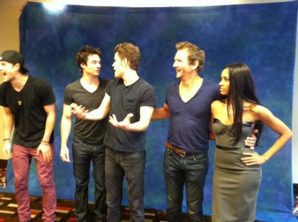 The Vampire Diaries at DragonCon - the-vampire-diaries-tv-show Photo