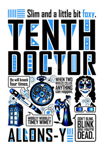Things associated with the tenth Doctor <3