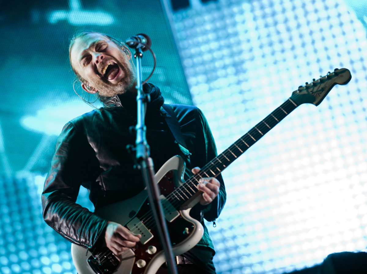 Thom Yorke Radiohead Photo 32041487 Fanpop