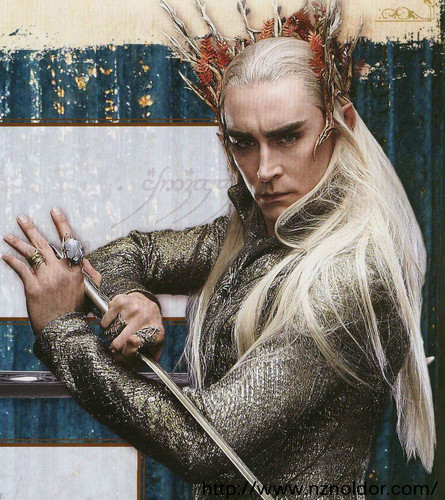 호빗 바탕화면 called Thranduil the Elvenking