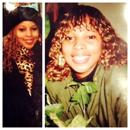 Throwback Mary J Blige in the 80's