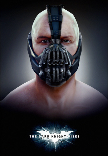 Tom Hardy wallpaper possibly with a gasmask titled Tom Hardy As Bane