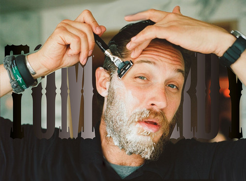 Tom Having A Shave - tom-hardy Photo