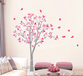 Tree with Butterfly Wall Stickers - home-decorating photo